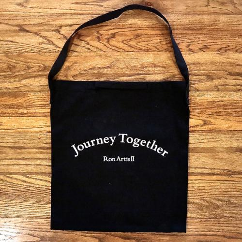 "Ron Artis Ⅱ ""Journey Together "" Canvas Shoulder bag"