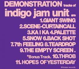 indigo jam unit / DEMONSTRATION-REMASTERED-