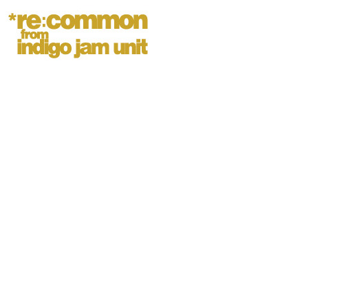 indigo jam unit / re:common from indigo jam unit