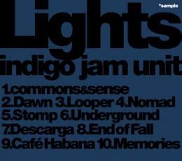 【CD】indigo jam unit / Lights