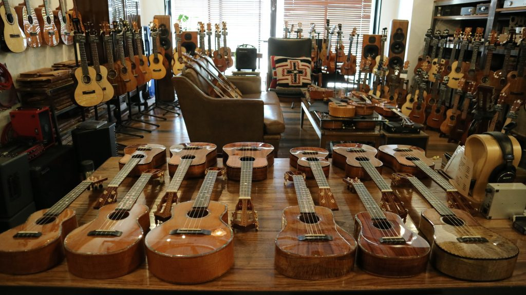 KOU ukulele @ サウンドメッセ