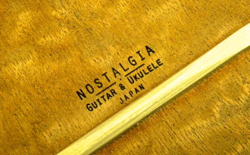 NOSTALGIA Guitar & Ukulele