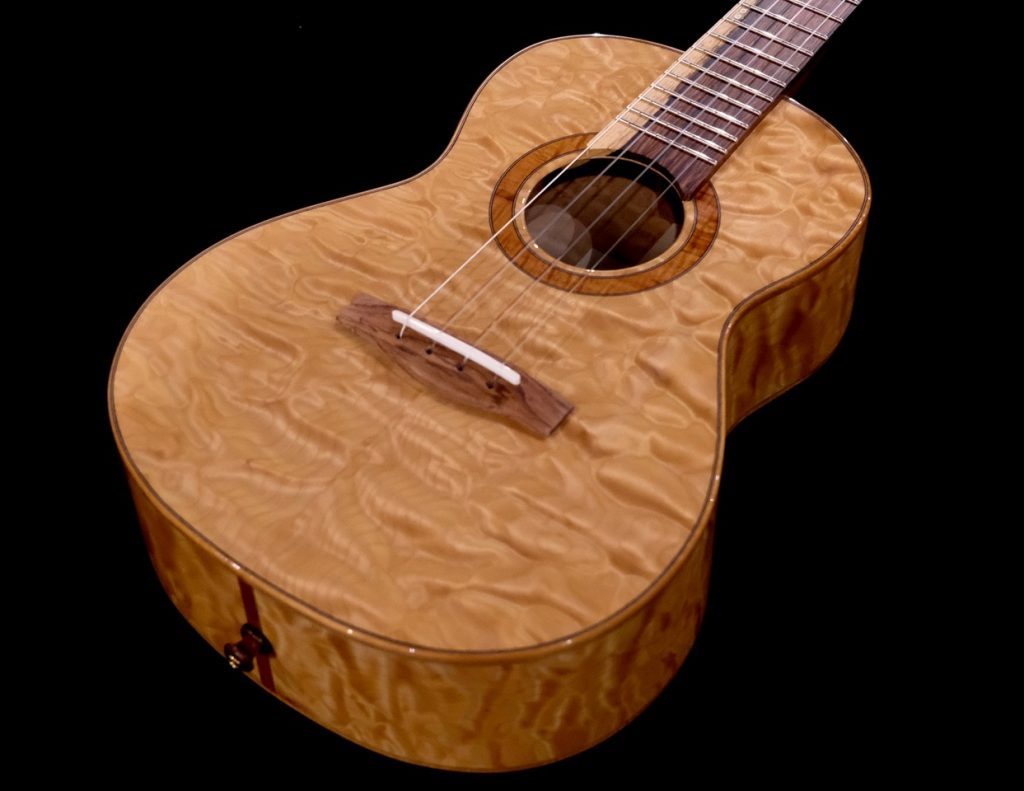 Quilted Maple Ukulele