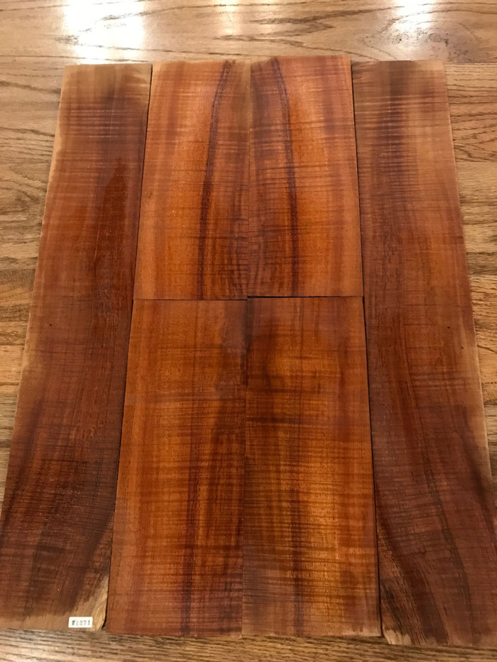 Koa Wood Set