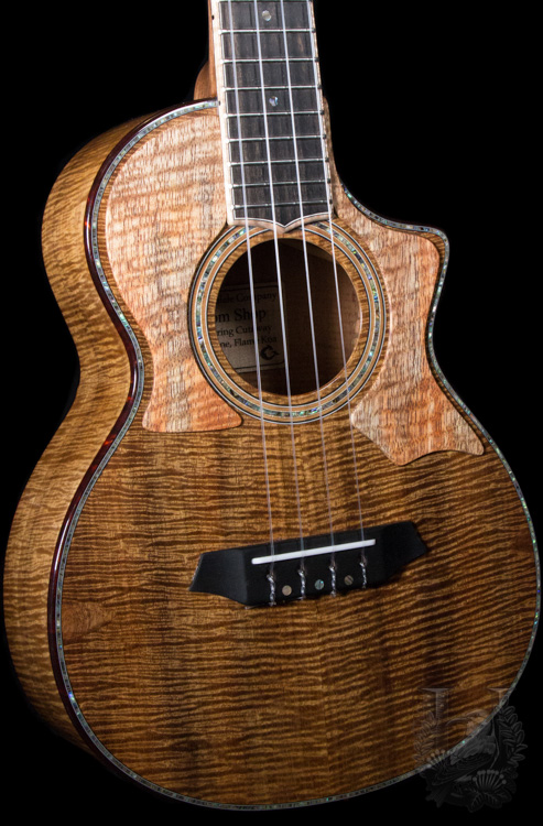 G String Tenor Cutaway Custom Shop Model