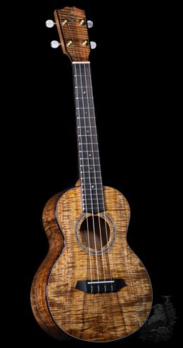 G String  Tenor Custom - Premium Curly Koa -