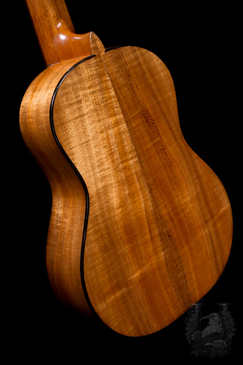 "Pepe Romero Tenor Custom Koa/Spruce ""Skin Bracing"" Outlet!!!"