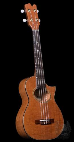 Tenor Custom Cutaway - Curly Cuban Mahogany -