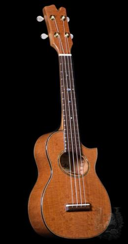 Concert Custom - Curly Cuban Mahogany-