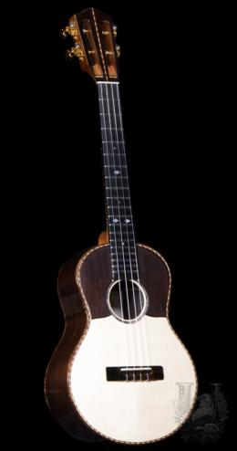 "KOU ukulele  Tenor ""D"" model - Brazilian Rosewood / Spruce(Moon wood) -"