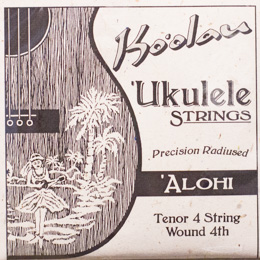 Ko'olau Alohi Tenor Wound 4th