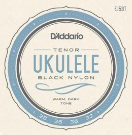 D'Addario BLACK NYLON  Tenor EJ53T