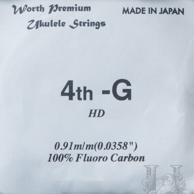 Worth Strings C-LGHD Clear Low-G Hard Single string 63""
