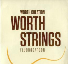 "Worth Strings C6 Clear 6-String Set 63"" Tenor"