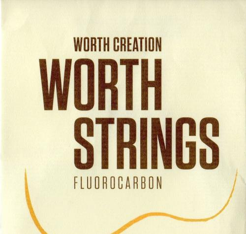 "Worth Strings CM-LGHD Clear Medium Low-G Hard 46"" Soprano/Concert"