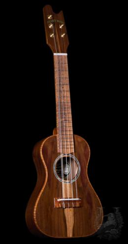 "Valley Made Ukulele  Custom 5string Concert ""Milo"""