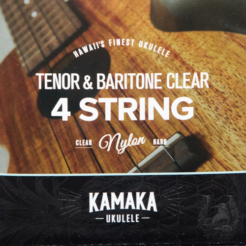 Kamaka Ukulele Strings - Tenor & Baritone Clear