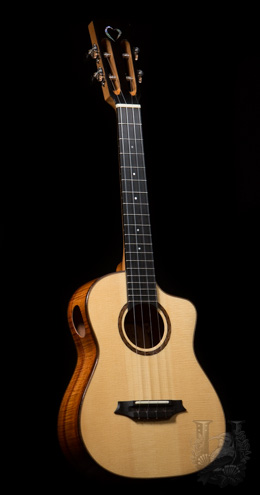 Pu'uwai(Woodley White) Tenor Custom (Wailoa Show Model)