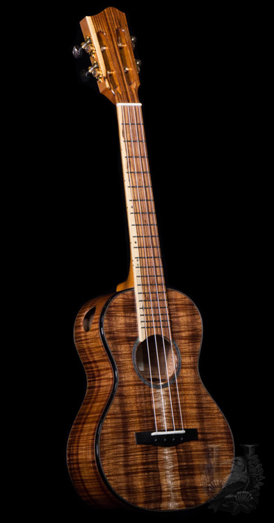 Lotus Acoustics Tenor Custom - Master Grade Hawaiian Koa -