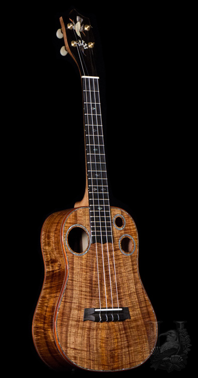 I'iwi Tenor Custom - Premium Curly Koa -