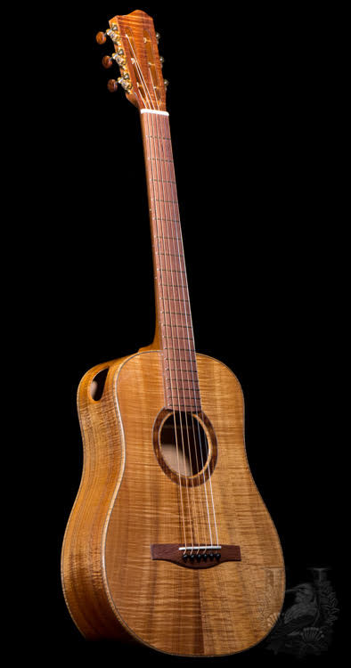 Lotus Acoustics Mini Guitar Custom