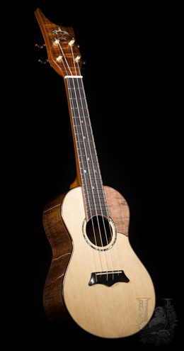"Koa Works Concert Custom ""KOA/Spruce"" SALE"