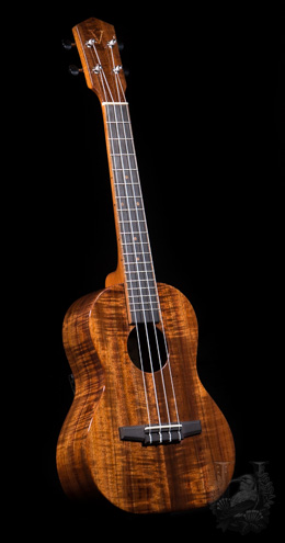 "VENTO MUSIC Tenor ""S""model Curly KOA (Koa V)"