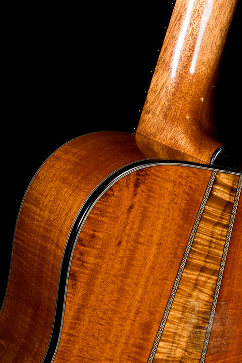 "I'iwi Tenor Custom ""Premium - Redwood & Cuban Mahogany"""