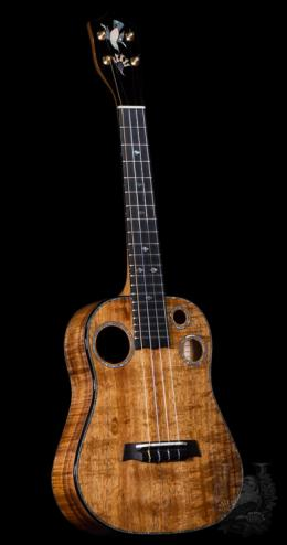 I'iwi   Tenor Premium - One Piece Curry KOA -