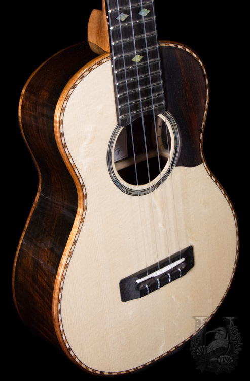 KOU ukulele D model- Brazilian Rosewood / Spruce(Moon wood)-