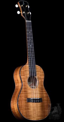 LYMANA  Tenor Custom -Curly Koa-