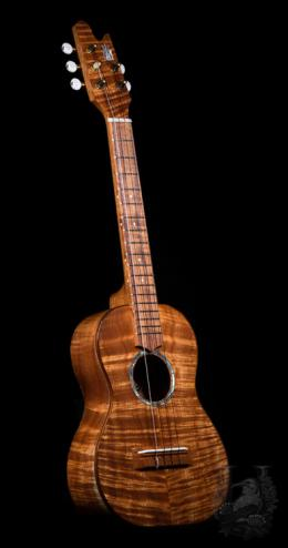 Valley Made Ukulele Custom 5string Tenor  -Premium Koa-