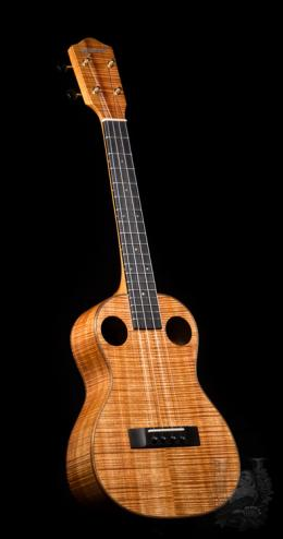 Graziano Tenor Custom Double Hole (Master Grade Koa)